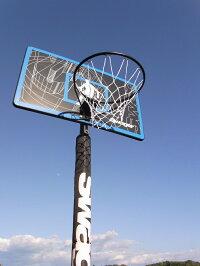 ミニバスから一般まで対応レイアップの練習にもポールパッドも標準装備極太ネット【送料無料】バスケットゴールSWG-305ST
