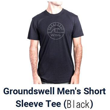 ワールドサーフリーグ(WoldSurfLeague)グランドスウェル半袖tシャツGround Swell Shoet Sleeve T-Shirts