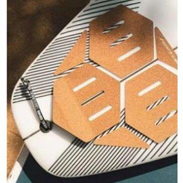 RSPRO (アールエスプロ) ショートボード用テールデッキパッドトラクション ボードグリップコルクボード製 TAIL DECKG RIP 郵送指定で送料0円−代引決済不可 デッキパッド デッキパッチサーフィン 位置 フロント ブランド スタンドアップパドル SUP クリスタルグリップ