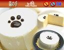 猫の肉球跡がポイントクリームチーズケーキ洋菓子/チーズケーキ/レアチーズケーキ猫の手