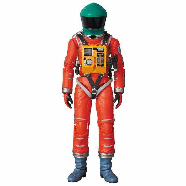 『2001年宇宙の旅』MAFEX SPACE SUIT GREEN HELMET & ORANGE SUIT Ver. 塗装済み完成品〔メディコム・トイ〕(190830予約開始)画像