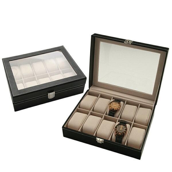腕時計ケース10本用腕時計ディスプレイメンズレディース腕時計ケース10本腕時計ケースコレクション腕時計コレクションボックスウォッ