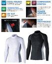 【頑張って送料無料!】BT冷感 パワーストレッチ 長袖シャツ JW-625(621)夏のスポーツにおすすめです!ネコポスのため代引き日時指定不可