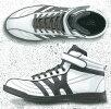 WILDWOLVESカジュアル安全靴(セーフティシューズ)鋼製先芯入ワイルドWW-401