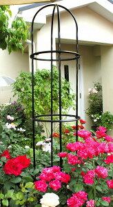 イボ付支柱に代わる、ばら用の支柱組み合わせてフェンスやトレリスにバラ用支柱★ローズスタイ...