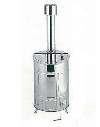 廃棄物処理法に対応!カンタン設置の焼却炉家庭用ステンレス焼...