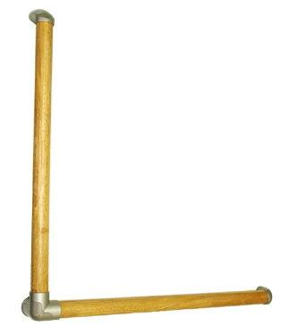 【頑張って送料無料!】オムソリ いたわりエコてすり L型 SO-TD5-600 600×600mm 自分で取り付けられる手すりですディンプル加工で握り易い!介護保険住宅改修対象商品
