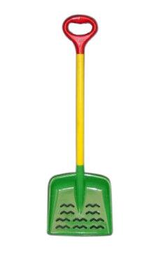 【頑張って送料無料!】キッズ用 ジュニアスコップ 角タイプビビット!子供用スコップ!