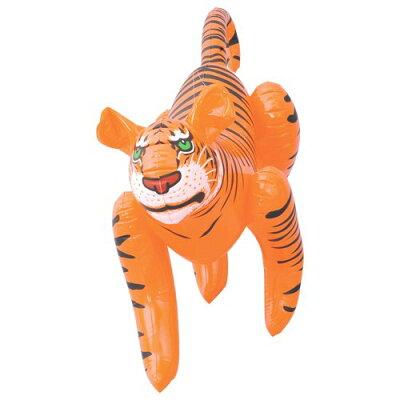 虎の風船が害鳥や害獣を威嚇!【レビューを書いて送料無料!】龍宝丸 鳥獣撃退タイガー K-002田...
