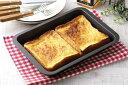 【安心の日本製】(39499)グリルdeクック マルチパンワイド IH・ガス火の魚焼き魚焼きグリルで、美味しくちょうりできる!!高温で食材をふっくら焼き上げますフッ素加工でお手入れラクラク幅27×奥行20×高さ3.5cm