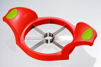 【頑張って送料無料!】ギザ刃フルーツカッター(18-8) 30995リンゴ、パイナップル、メロンや柑橘フルーツがあっという間に8等分に!噂のアップルカッター!
