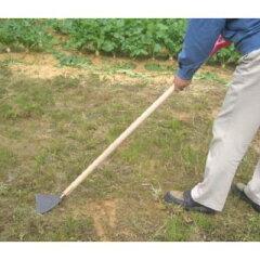 スコップのように土や草をすくうこともできます引いてもダメなら押してみよう 押しホー 195mm...