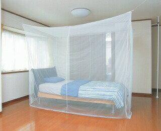 かいてき 軽涼蚊帳(かや) 8畳用 RM-80幅350×奥行250×高...