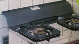 ガスコンロの後ろにゴミ・食材が落ちるのを防ぐ!(ガススキマピッタンコ回転式)安心の燕三条産!カラサワ社製ガステーブル スキマピッタンコ 回転式フッ素加工で油が落ちやすいガスコンロ幅560-590mm