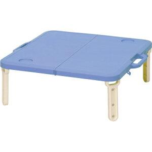 どこでも持ち運び便利!BUNDOK ミニレジャーテーブル ブルー 【テーブル】 bd-143b