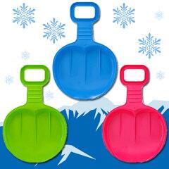 みんなで雪遊びしよう!kaiser ヒップソリ KW-974雪でも芝生でもそり遊び!