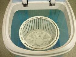 【レビューを書いて送料無料!】脱水機能付小型洗濯機ミニ楽ンドリーKJ-800農薬・泥よごれなどの洗濯・脱水に