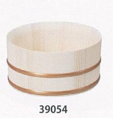 木肌のぬくもりがくつろげる雰囲気を演出天然木 湯桶(口薄) φ22×11cm 39054