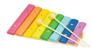 安心安全な子供と地球にやさしい木のおもちゃ知育にピッタリ 木の楽器 もっきん
