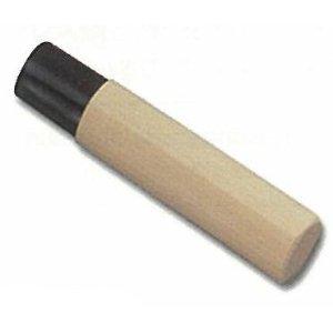 【ネコポス可能】藤次郎 薄刃 165,180mm用 黒樹脂桂 木柄 M-103