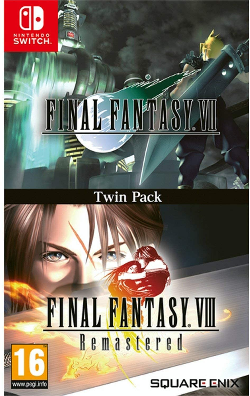 Nintendo Switch, ソフト Final Fantasy VII Final Fantasy VIII Remastered Twin Pack 7 8 Nintendo switch ver.