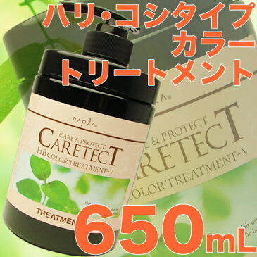 ナプラ ケアテクトHB カラートリートメント 650g 【V/ハリ・コシ タイプ】