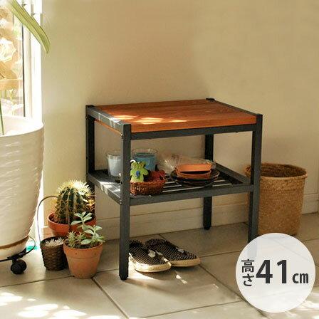 天然木製インテリア ブルック サイドテーブル
