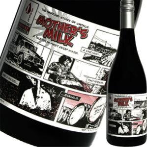 ≪ユニークなラベルの奇想天外ワイン!!≫その名も『マザーズミルク(母乳)!!』ラベルは漫画!!で...