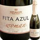 フィタ・アズール・ウーマン・ドース| スパークリング ワイン 結婚祝い スパークリングワイン 誕生日 父 プレゼント 還暦祝い 女性 内祝い 60代 お酒 プレゼント ポルトガルワイン 記念日 ギフト わいん 出産内祝い お返し