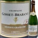 ゴセ・ブラバン・レゼルヴ・ブリュット・グラン・クリュ NV|誕生日プレゼント ギフト 還暦祝い 女性 シャンパン スパークリングワイン スパークリング ワイン 結婚祝い お酒 結婚記念日 妻 お土産 内祝い お返し 母 60代