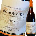 クルティエ・セレクション・ブルゴーニュ・ルージュ 2005 | 赤ワイン ギフト ピノ ノワール フランス ブルゴーニュ ピノノワール 赤 ワイン 甘口 内祝い 結婚祝い 誕生日 還暦祝い 記念日 プレゼント お酒 お返し