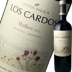ドニャ・パウラ・ロス・カルドス・マルベック 赤ワイン プレゼント バレンタイン プチギフト