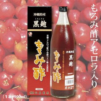 [moromi醋][櫻桃樹][沖繩生產]含檸檬酸tappurinomoromi醋沖繩生產moromi醋櫻桃樹的1條(1部900ml)