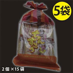 沖繩的傳統點心! 在chinsukouno原點這裏! 5袋普通nochinsukou(2個*15袋)