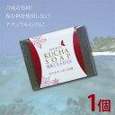 合成着色料、保存料を使用しない ナチュラル石けん 琉球王国の王妃も使用 沖縄産琉球クチャ石けん1個(120g)