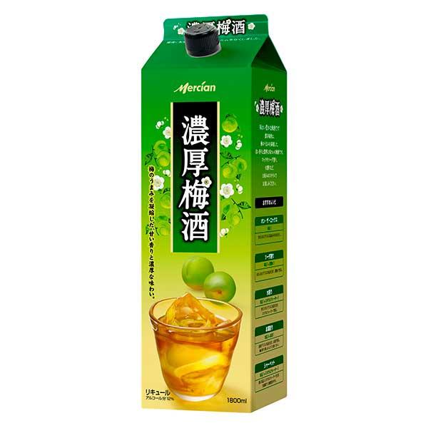 日本酒・焼酎, 梅酒 10 1.8L 1800ml x 6 416717