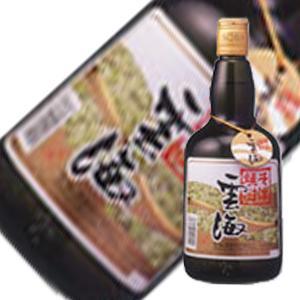 そば雲海 25度 [瓶] 720ml [雲海酒造]