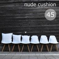 クッション中綿ヌードクッション国産良品日本製復元力抜群高品質わた使用手洗い可[30cm角]30×30cm