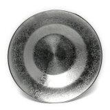 すず器:錫段付茶托・大・ゆり工房《茶托》