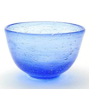 涼しい青・・・ブルー碗・大泉恵