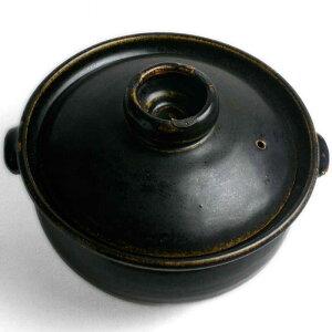 ご飯がおいしく3合炊けます!玄釉土鍋・3合・吉井史郎