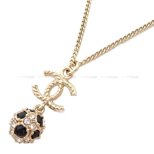 レディースジュエリー・アクセサリー, ネックレス・ペンダント CHANEL ()X AB0580 (CHANEL COCOMARK Twist Mirror Ball Necklace BlackGold AB0580Brand newAuthenic)yochika