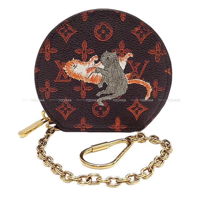 財布・ケース, レディースコインケース LOUIS VUITTON M63886 (LOUIS VUITTON Coin Case Micro BOITE CHAPEAU CatgramAuthentic)yochika