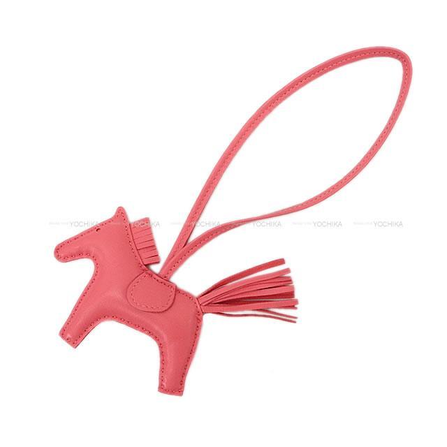 バッグ用アクセサリー, バッグチャーム HERMES RODEO PM () (HERMES bag charm Rodeo PM Rose Azalee Agneau MiloBrand newAuthentic)yochika