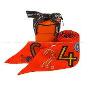 """【新作続々入荷中★】HERMES エルメス ツイリー スカーフ """"24 Flog"""" オレンジ シルク100% 新品未使用 (HERMES Twilly Scalf """"24 Flog"""" Orange Silk100%[Never Used][Authentic])【あす楽対応】#yochika"""