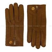 """【新作続々入荷中★】HERMES エルメス 手袋 グローブ """"ネルヴェール・ドロワット"""" ゴールド ラムスキン 新品同様【中古】 ([Pre-loved]HERMES gloves """"Nervures Droites"""" Gold Lambskin [Near mint][Authentic])【あす楽対応】#yochika"""
