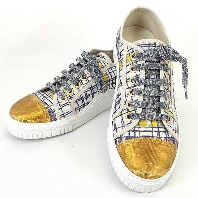 CHANEL sneakers womens CHANEL ()XX 39 G32383 (La...
