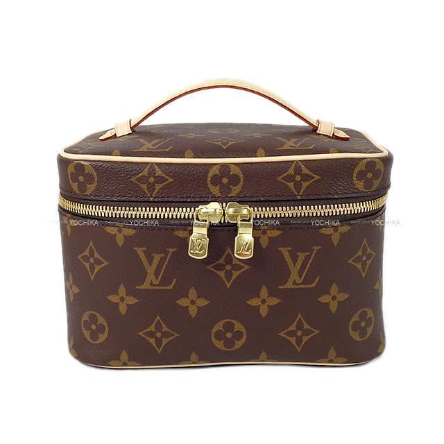 レディースバッグ, 化粧ポーチ LOUIS VUITTON M44495 (LOUIS VUITTON Vanity Bag Pouch Nice Mini Monogram GHW M44495 Brand newAuthentic)