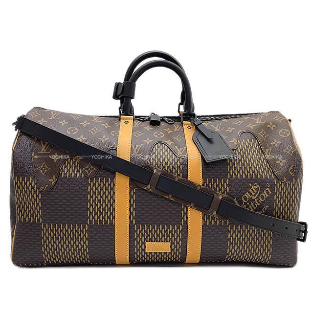 メンズバッグ, ショルダーバッグ・メッセンジャーバッグ 2020 LOUIS VUITTON NIGO 50 N40360 (LOUIS VUITTON Shoulder bag Keepall Bandouliere 50Authentic)