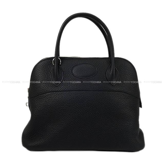 レディースバッグ, ショルダーバッグ・メッセンジャーバッグ HERMES 31 () Z (HERMES Bolide31 Noir (Black) Taurillon Clemence Silver HW Shoulder bagBRAND NEWAuthentic)